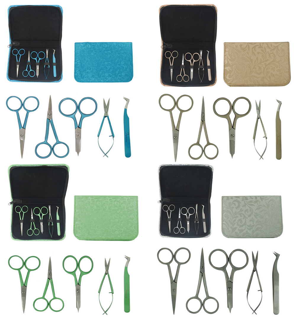 1101 - Colored Embroidery Kit & Zipper Pouch
